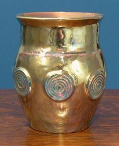 [Iridescent Pottery by Paul J. Katrich, 0672]