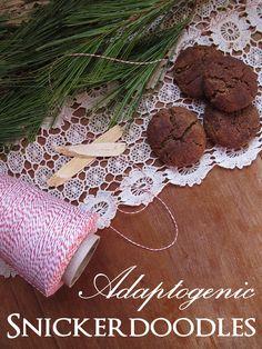 Gluten-Free Adaptogenic Snickerdoole Recipe