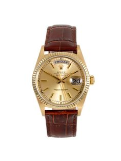 Rolex 14k Yellow Gold President (c. 1980s) by Vintage Watches on Gilt.com