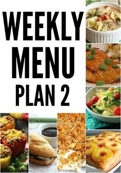 You searched for weekly menu plan 2 - Favorite Family RecipesFavorite Family Recipes Weekly Menu Planning, Family Meal Planning, Family Meals, Meal Planing, Family Recipes, Dinner Menu, Dinner Recipes, Dinner Sides, Easy Meal Plans