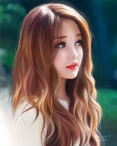 Joni looking worried beautiful anime girl, beautiful girl drawing, digita. Chica Fantasy, Fantasy Girl, Beautiful Fantasy Art, Beautiful Anime Girl, Cartoon Kunst, Cartoon Art, Photo Portrait, Portrait Art, Digital Portrait