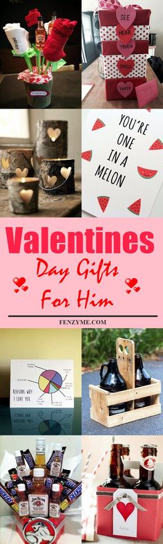 55 Handcrafted Valentines Day Gifts For Him to Express your Feelings