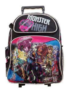 Monster High Skull Ghoulfriends Large Rolling « Clothing Impulse