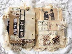 Image result for vintage junk journal