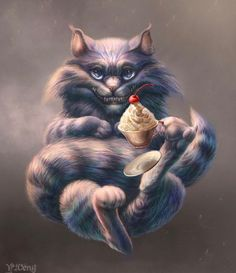 Cheshire Cat by J-Veng on DeviantArt Lewis Carroll, Cheshire Cat Art, Chesire Cat, Alice Madness, Art For Art Sake, Lilo Stitch, Deviantart, Zootopia, Tarzan