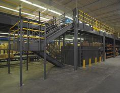 Met a guy named Reid Fisher doing some pretty cool stuff with Industrial Steel Mezzanines in warehouses and manufacturing plants. Check out what they are doing over at Kab Tech - http://www.kabtechusa.com/mezzanines/