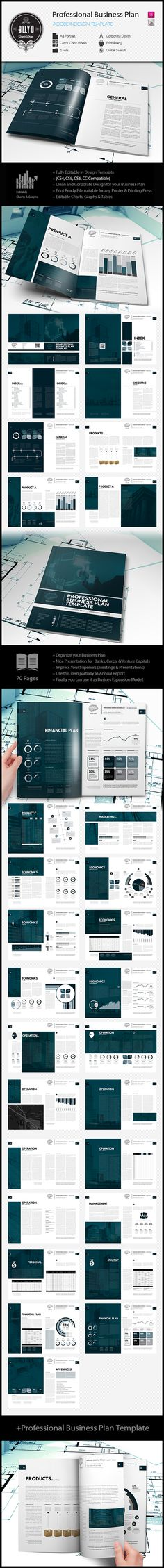 Professional Business Plan Template | The business plan consists of a narrative…