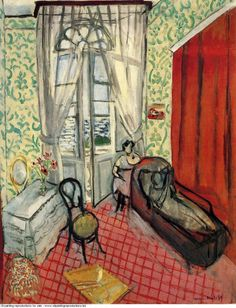 Oil painting reproductions Henri Matisse » Woman on sofa or couch