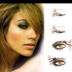 Jennifer Lopez brown eye makeup
