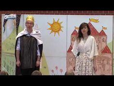 Mátyás király és a furfangos leány - Kecel VTV - YouTube