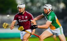 2018/05/12 Offaly 2-15 5-18 Galway - Daithi Burke & Conor Mahon (Photo credit : GAA) Photo Credit, Bae, Sports, Hs Sports, Sport