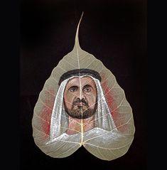 I Paint On Peepal Leaves To Keep The Ancient Art Alive