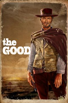 """Learn To Draw People - The Female Body Clint Eastwood is The man with no name, in Sergio Leone's """"The Good, the Bad & the Ugly"""" Westerns, The Ecstasy Of Gold, Actor Clint Eastwood, Clint Eastwood Poster, Eastwood Movies, Sergio Leone, Movies And Series, Fritz Lang, Cinema Posters"""