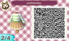 animal crossing: new leaf clothes~