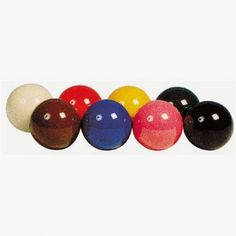 Bille couleur 50,8mm. L'unité, 8 couleurs au choix - 4,00 €  #Jeux