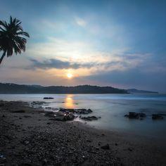 'sunrise in Sawarna Beach' on Picfair.com