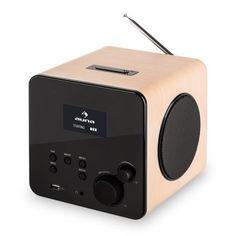 Auna Radio Gaga Internetradio WLAN/LAN DAB/DAB+ USB AUX eiche