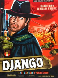 One of the greatest spaghetti westerns.     http://wrongsideoftheart.com/wp-content/gallery/posters-d/django_poster_03.jpg
