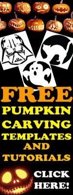 HALLOWEEN COLORING pages - hundreds of them - and pumpkin carving templates for jack O'Lanterns.