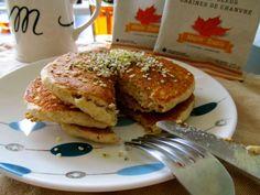 Fluffy Vegan Maple Pancakes