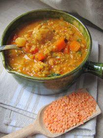 La cuisine d'ici et d'ISCA: Soupe de lentilles corail à l'indienne