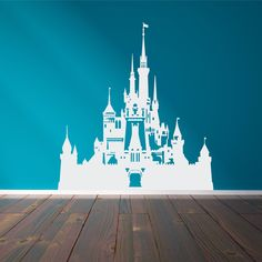 Disney Castle Wall Decal - The Decal Guru