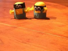 Minions aus Überraschungseiern basteln | Schöne Geschenkideen Minions, Gifts For Children, Crafting, Nice Asses, The Minions, Minions Love, Minion Stuff