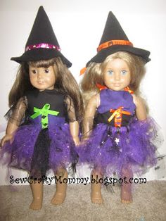American Girl Doll Halloween Witch