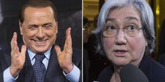Silvio Berlusconi e Rosy Bindi