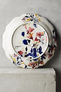 Wildflower Study Dinnerware