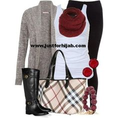 outfits for women fall winter 2013 | http://www.justforhijab.com/2012/10/06/casual-fall-outfits-for-women/