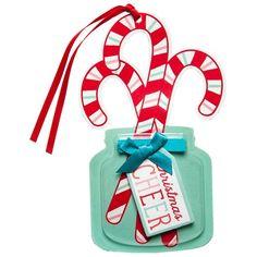6ct Candy Canes in Jar Premium Gift Tag Set - Wondershop™