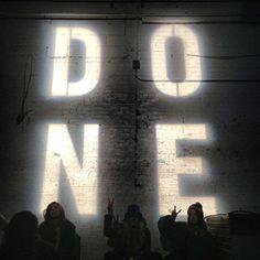 D O N E