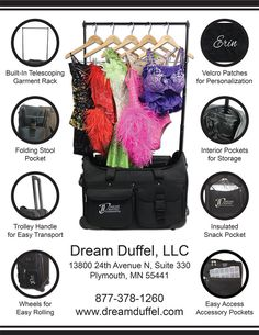 What is a Dream Duffel? Check out the ins and outs of our product here or visit www.dreamduffel.com