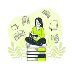 Book lover by Freepik Stories E Learning, Creative Illustration, Book Illustration, Cartoon Illustrations, Cartoon Boy, Cartoon Quotes, Used Computers, Kids Reading, Study Materials