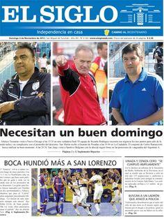 Diario El Siglo - Domingo 4 de Noviembre de 20 12