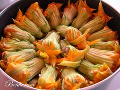 Stuffed courgette blossoms. Authentic Turkish Cypriot cuisine!