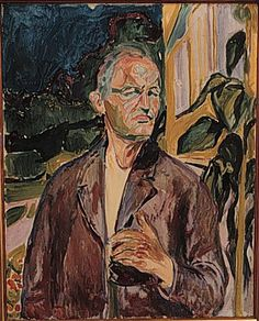 Self-Portrait - Edvard Munch