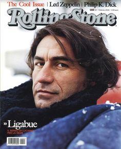 I primi 100 numeri di Rolling Stone. N°4 - febbraio 2004, @Luciano Ligabue in #copertina