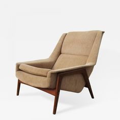 Nook Folke Ohlsson For Dux Tall Back Lounge Chair Chair