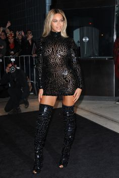 In Tom Ford at the release party for her self-titled album Beyonce. #beyonce #grammys #redcarpet101