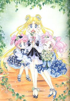 Original Sailor Moon Art Work By Naoko Takeuchi