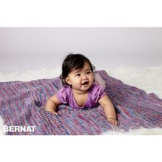 Ravelry: Super Textures Blanket pattern by Bernat Design Studio Easy Knitting Projects, Knitting For Kids, Baby Knitting Patterns, Crochet For Kids, Loom Knitting, Baby Patterns, Free Knitting, Easy Knit Baby Blanket, Baby Shawl