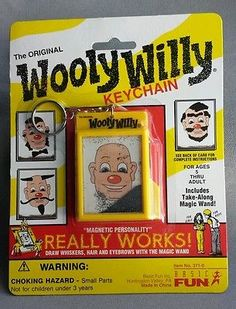 http://www.ebay.com/itm/WOOLY-WILLY-KEYCHAIN-Keyring-classic-toy-Basic-Fun-NEW-magnetic-beard-mustache-/261396501883