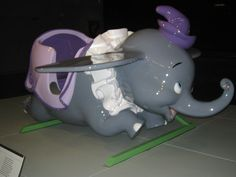 Vintage Dumbo with his purple hat! #Disneyland
