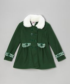 Green Swing Coat - Toddler & Girls | Daily deals for moms, babies and kids