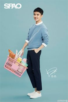 [UPDATE] 160906 SPAO中国 Weibo: EXO D.O. cre: SPAO