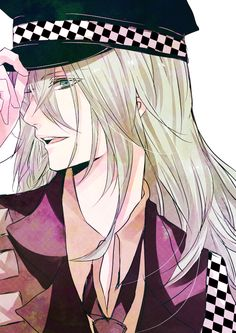 Place 9: Ukyo From Amnesia. Even he has two personalities, you can learn to love both <3
