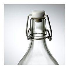 KORKEN Botella con tapón, vidrio incoloro - IKEA
