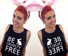 October 2014, #PhoebeDykstra Joins Humane Society International's #BeCrueltyFree Campaign to End #AnimalTesting for Cosmetics in #Canada. Let's make Canada the next country to #BeCrueltyFree! Please Sign & Share HSI's Petition: https://action.hsi.org/ea-action/action?ea.client.id=104&ea.campaign.id=32712&ea.tracking.id=website